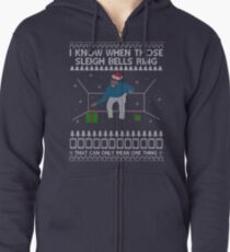 Drake - Hotline Bling - Sleigh Bells Ring - Christmas Zipped Hoodie