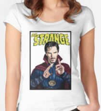 """Strange"" Women's Fitted Scoop T-Shirt"