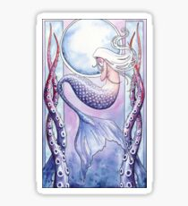 Deep Sea Mermaid Sticker