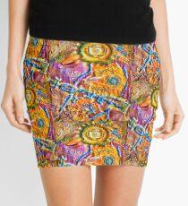 COLORFUL FANTASY BIRD Mini Skirt
