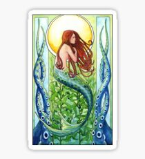 Pegatina Sirena del bosque Kelp