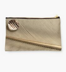 Dewdrop on Quill Feather Studio Pouch
