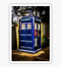 TARDIS Sticker