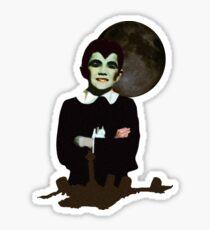 Eddie Munster Sticker