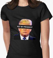 TRUMPF - NICHT MEIN PRÄSIDENT Tailliertes T-Shirt