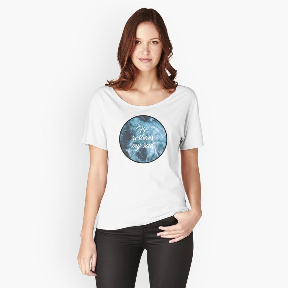 Christian Quote Women's Relaxed Fit T-Shirt Front