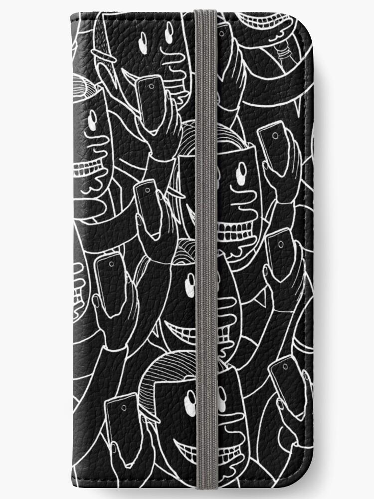 SELFIE! WHITE ON BLACK by Miskel Design
