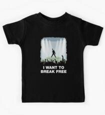 I want to break free Kids Tee