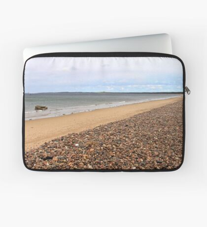 Burghead Bay at Findhorn, Moray Firth, Scotland  Laptop Sleeve
