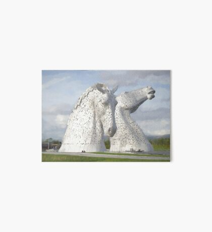 the Kelpies , Helix Park , Gramgemouth Art Board