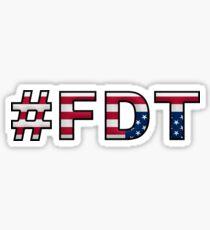 #FDT Sticker