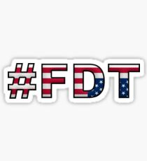 #FDT Sticker