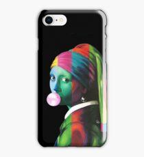 Pop Vermeer Bubble Girl iPhone Case/Skin