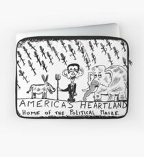 America's Heartland of the Political Maize Laptop Sleeve