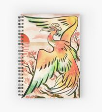 Ho-oh Spiral Notebook