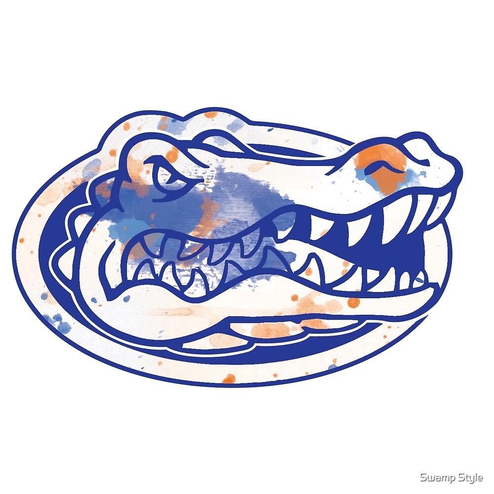 UF Tie Dye Logo  by Swamp Style