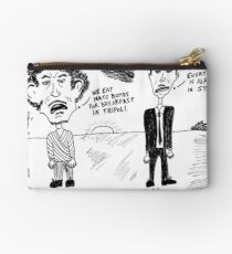 Gadaffi Assad Still Crazy After All These Years Studio Pouch