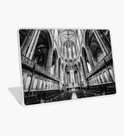 Narbonne Cathedral Laptop Skin