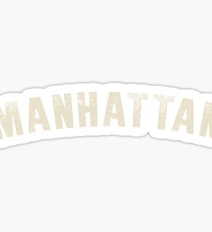 MANHATTAN LETTERPRESS Sticker
