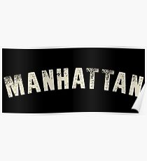 MANHATTAN LETTERPRESS Poster