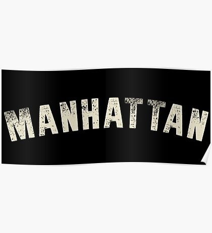 MANHATTAN LETTERPRESS Poster
