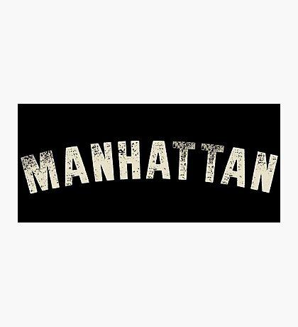 MANHATTAN LETTERPRESS Photographic Print