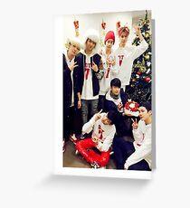 GOT7 Christmas Greeting Card