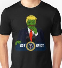 Pepe the Frog Donald Trump Unisex T-Shirt
