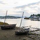 Low Tide Tarbert Scotland by humblebeeabroad