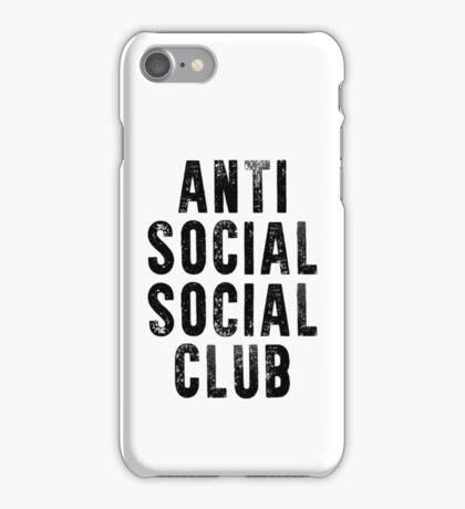 ANTI SOCIAL SOCIAL CLUB iPhone Case/Skin