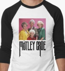 Golden Girls Girls Girls Men's Baseball ¾ T-Shirt