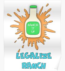 LEGALIZE RANCH Poster