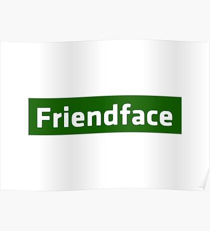 Friendface - The IT Crowd Poster