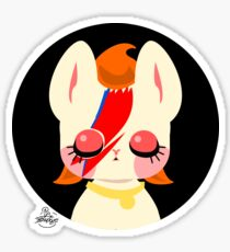 Glam Rocker Kitty Sticker