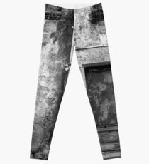An Old Weathered Wall Leggings