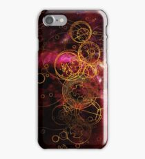 Time Lord Writing (red) iPhone Case/Skin