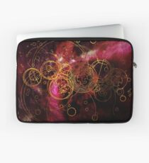 Time Lord Writing (red) Laptop Sleeve