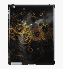 Time Lord Writing (black) iPad Case/Skin