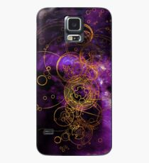 Time Lord Writing (purple) Case/Skin for Samsung Galaxy