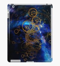 Time Lord Writing (blue) iPad Case/Skin