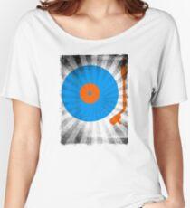 Vinyl Record Pop T-Shirt 2 Women's Relaxed Fit T-Shirt
