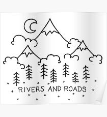 Rivers And Roads Poster