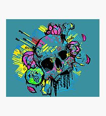 Graffiti Skull  Photographic Print