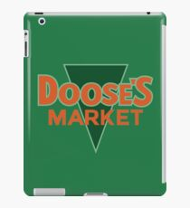 Doose's Market iPad Case/Skin