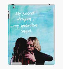 my guardian angel iPad Case/Skin