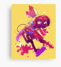 Inkling! (Yellow) Canvas Print