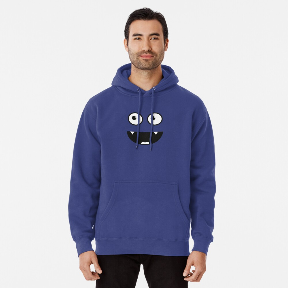 Cute Funny Vampir Monster Smiley Face Hoodie