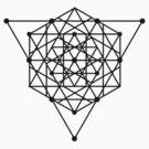 Sacred Geometry #1 (Black) by Eyeland Clothing