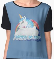 Central Intelligence - Unicorn (Faded as worn in the film) Bob Stone Chiffon Top