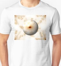 Golden Fractal Gloabe T-Shirt